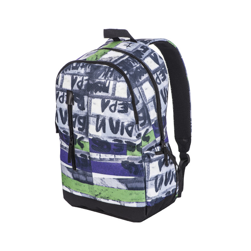Allover Printing School Backpack