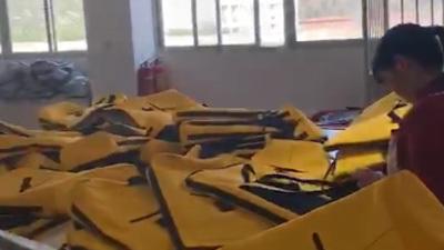 Bulk bags inspection workship