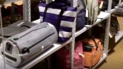 Bulk bags sample room