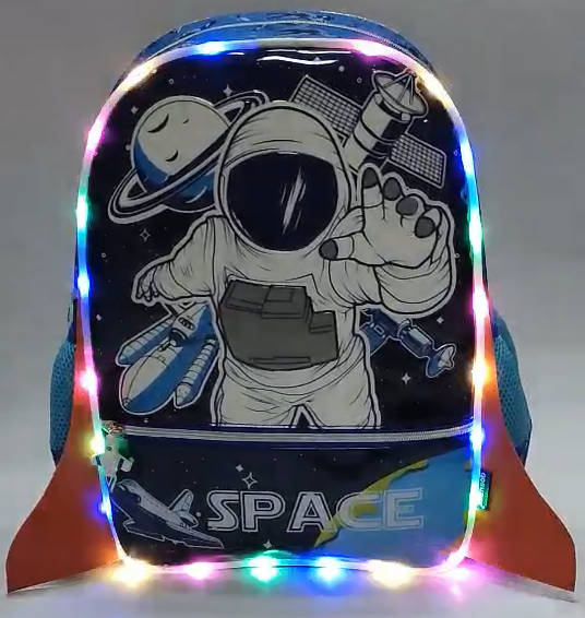 Boys shining backpack