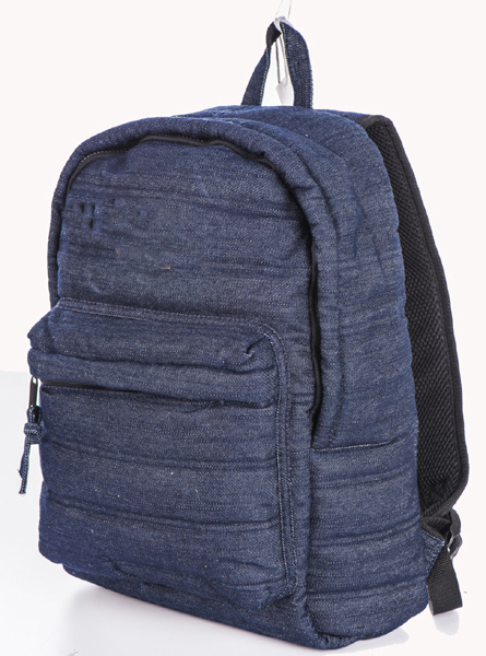 Denim soft fashion backpack