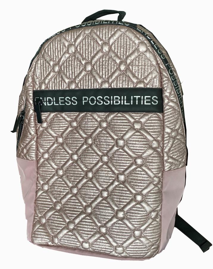soft garment fabric fashion girl's backpack