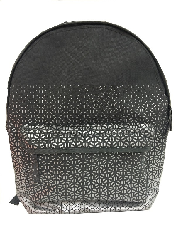 Lilght weight simple backpack with allover printing