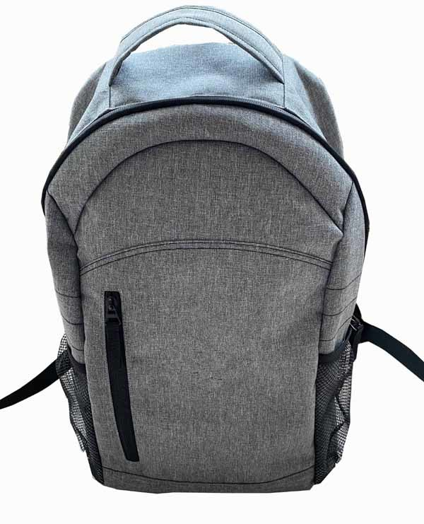 Heavy Gray fabric Backpack