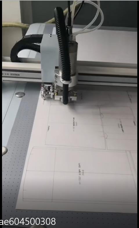 Opening paper mould for bag sample