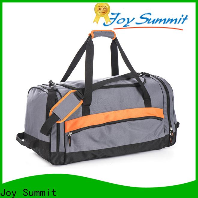 Joy Summit military duffel bag business for yoga