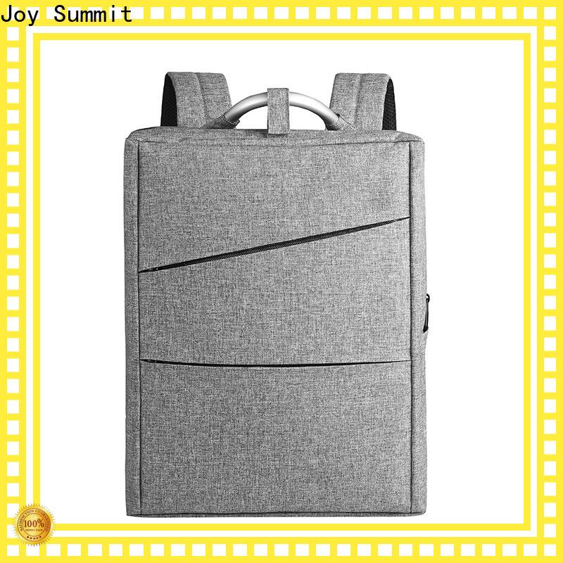 Joy Summit black business bag factory for carrying laptop