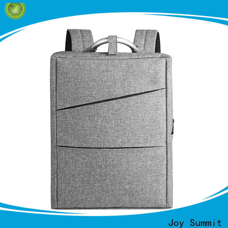 Joy Summit Personalized best business backpack factory for carrying laptop