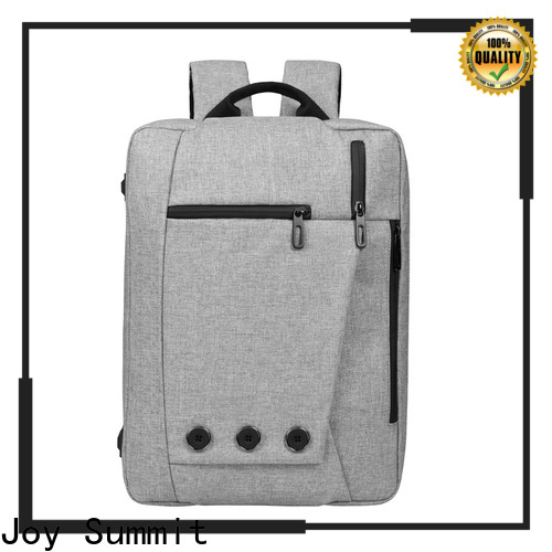 Joy Summit Nylon laptop backpacks manufacturer for carrying computer