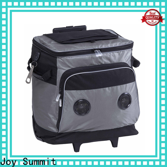 Joy Summit Personalized Trolley cooler bags wholesale for wine carrying